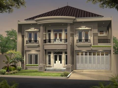 rumah minimalis mewah dan elegan